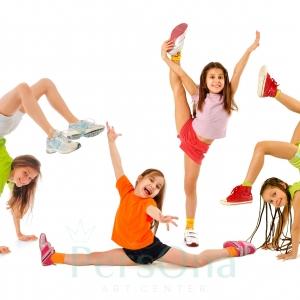 Базовые элементы акробатики для детей в Москве