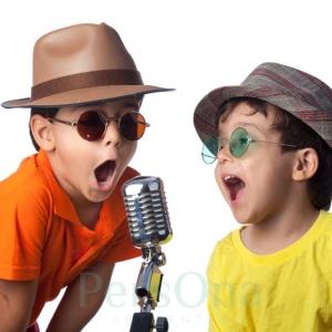 Работа с микрофоном для детей в Москве
