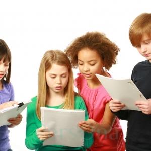 Работа с текстом - творческая студия для детей